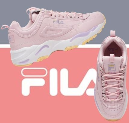 FILA Disruptor 2 2018-19AW Platform Casual Style Unisex Enamel Blended  Fabrics (Fila Disruptor II X Ray Tracer)