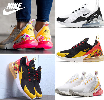 Nike AIR MAX 270 2019 SS Flower Patterns Tropical Patterns Casual Style (AR0499 100, AR0499 005, AR0499 101)