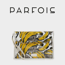 PARFOIS Tropical Patterns Casual Style Clutches