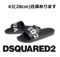 D SQUARED2 Unisex Street Style Shower Shoes Shower Sandals