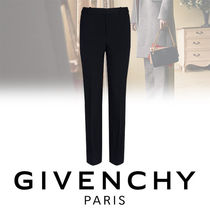 GIVENCHY Casual Style Wool Blended Fabrics Plain Long Skinny Pants
