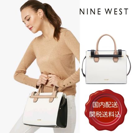 2WAY Plain PVC Clothing Elegant Style Handbags