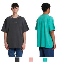 TRUNK PROJECT Crew Neck Unisex Street Style Plain Cotton Short Sleeves