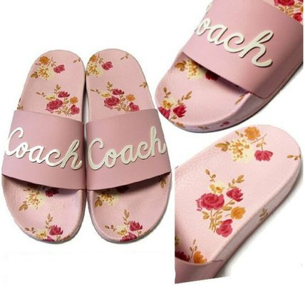 Shop Coach Flower Patterns Casual Style