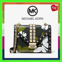 Michael Kors WHITNEY Camouflage 2WAY Leather Handbags