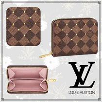 Louis Vuitton DAMIER Other Check Patterns Canvas Blended Fabrics Bi-color