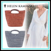 HELEN KAMINSKI Casual Style Blended Fabrics Home Party Ideas Bags