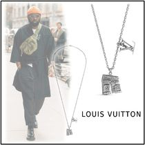Louis Vuitton 2019-20AW LV ARC PENDANT silver one size necklace