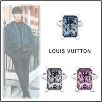 Louis Vuitton 2019-20AW Engagement rings blue trans palan rose M, L rings