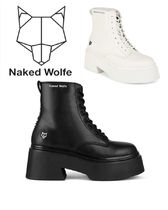Naked Wolfe Plain High Heel Boots
