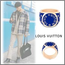 Louis Vuitton 2019-20AW LV COLORS SIGNET RING blue M, L ring