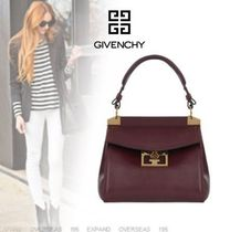 GIVENCHY Suede 2WAY Plain Elegant Style Bags