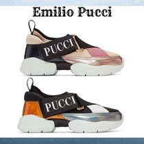 Emilio Pucci Casual Style Street Style Plain Low-Top Sneakers