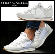 PHILIPPE MODEL PARIS Casual Style Street Style Low-Top Sneakers