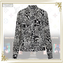 Louis Vuitton Silk Long Sleeves Other Animal Patterns Shirts & Blouses