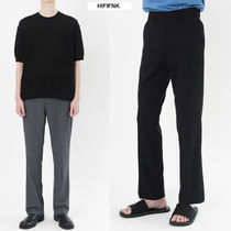 HI FI FNK Slax Pants Unisex Plain Slacks Pants