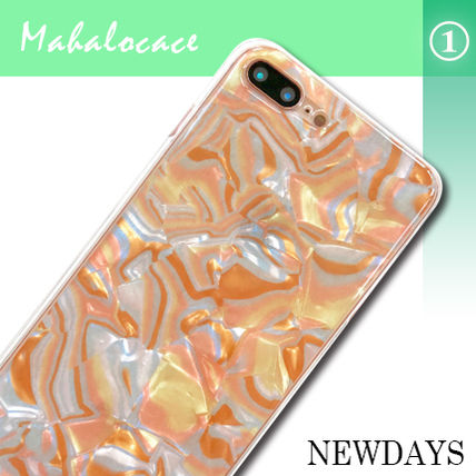 Flower Patterns Bi-color Smart Phone Cases