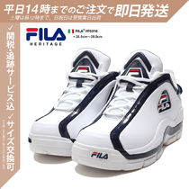 FILA Street Style Leather Dad Sneakers Logo Sneakers