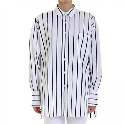 Stripes Casual Style Street Style Shirts & Blouses