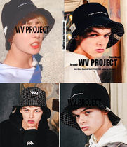 WV PROJECT Unisex Wide-brimmed Hats