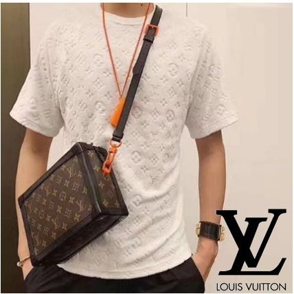 Louis Vuitton More T-Shirts Monogram Unisex Silk Street Style Short Sleeves T-Shirts