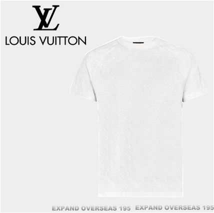 Louis Vuitton More T-Shirts Monogram Unisex Silk Street Style Short Sleeves T-Shirts 2