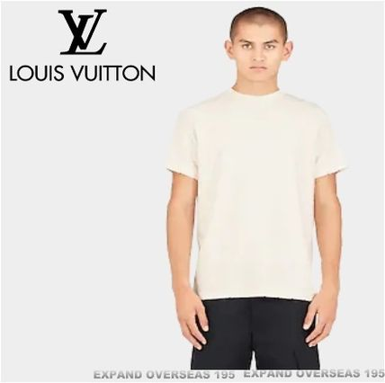 Louis Vuitton More T-Shirts Monogram Unisex Silk Street Style Short Sleeves T-Shirts 3