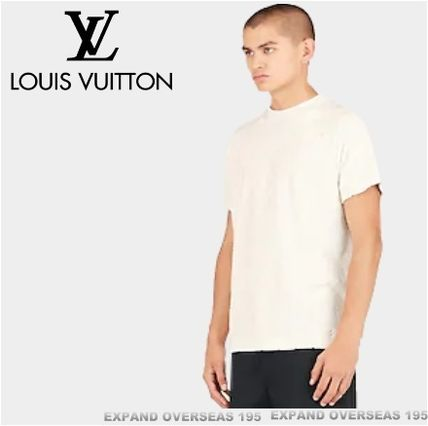 Louis Vuitton More T-Shirts Monogram Unisex Silk Street Style Short Sleeves T-Shirts 4