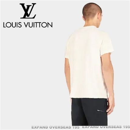 Louis Vuitton More T-Shirts Monogram Unisex Silk Street Style Short Sleeves T-Shirts 5
