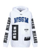 MSGM Pullovers Unisex Street Style Long Sleeves Cotton Hoodies