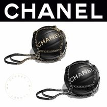 CHANEL SPORTS Blended Fabrics Street Style Chain HOME