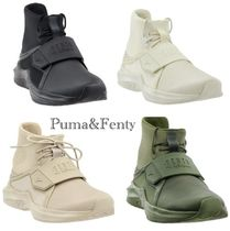 PUMA Platform Round Toe Casual Style Street Style Collaboration
