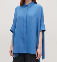 COS Casual Style Plain Short Sleeves Shirts & Blouses