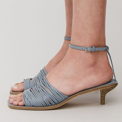 Casual Style Plain Sandals