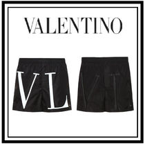VALENTINO Plain Beachwear