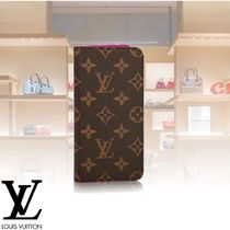 Louis Vuitton Monogram Leather Smart Phone Cases