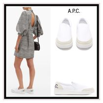 A.P.C. Casual Style Plain Slip-On Shoes