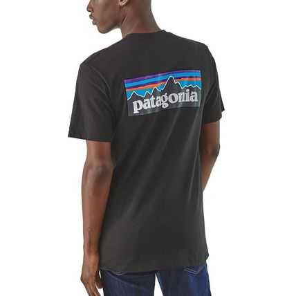 Patagonia Crew Neck Crew Neck Pullovers Short Sleeves Outdoor Crew Neck T-Shirts 3