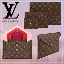 Louis Vuitton MONOGRAM Monogram Unisex Canvas Blended Fabrics Bag in Bag Bi-color