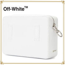 Off-White Zebra Patterns Casual Style Plain Shoulder Bags