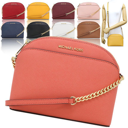 Chain Leather Shoulder Bags
