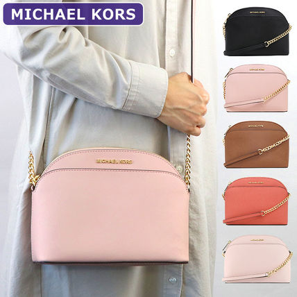 Michael Kors Chain Leather Crossbody Shoulder Bags