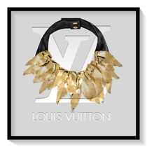 Louis Vuitton Blended Fabrics Elegant Style Necklaces & Pendants
