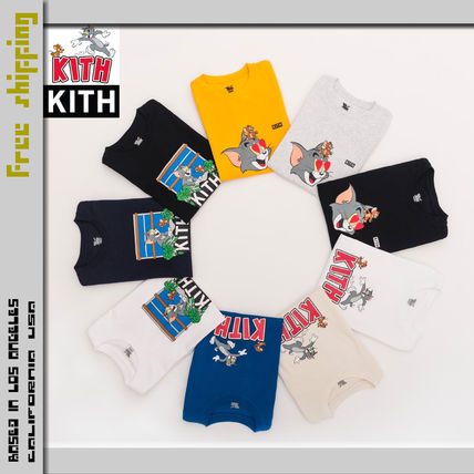 KITH NYC More T-Shirts Street Style Collaboration Short Sleeves T-Shirts