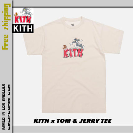KITH NYC More T-Shirts Street Style Collaboration Short Sleeves T-Shirts 3