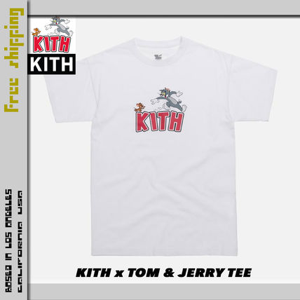 KITH NYC More T-Shirts Street Style Collaboration Short Sleeves T-Shirts 4