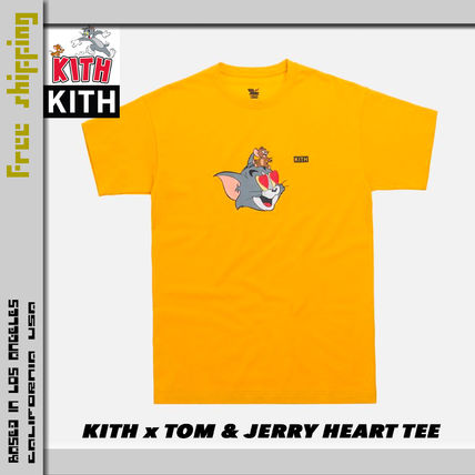 KITH NYC More T-Shirts Street Style Collaboration Short Sleeves T-Shirts 6
