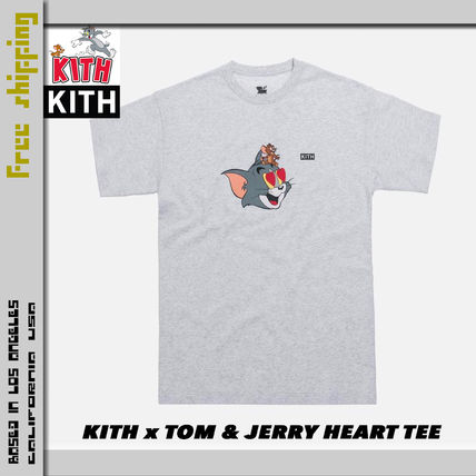 KITH NYC More T-Shirts Street Style Collaboration Short Sleeves T-Shirts 7