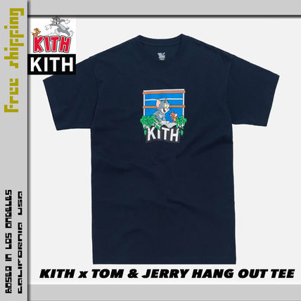 KITH NYC More T-Shirts Street Style Collaboration Short Sleeves T-Shirts 9