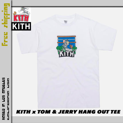 KITH NYC More T-Shirts Street Style Collaboration Short Sleeves T-Shirts 10